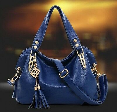 Women's Ladies Real Leather Shoulder Bag Satchel Cross Body Tote Handbag Hobo