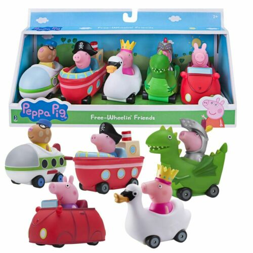 Mini Flitzer Kostümzeit5-er Pack FahrzeugePeppa WutzPeppa Pig