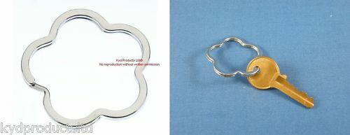 Flower Shaped Split Ring 40mm 10 Pieces