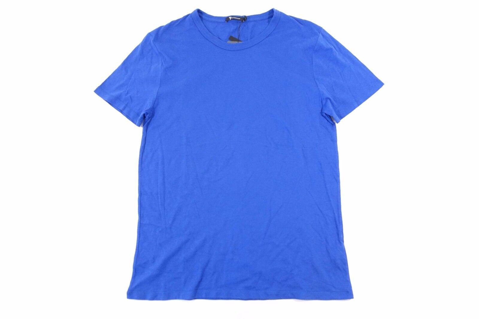 T ALEXANDER WANG 500200S17 blueE LARGE SOFT TSHIRT MENS NWT NEW