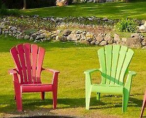 Gartenstuhl Kunststoff Progarden Deckchair Dolomiti Anthrazit