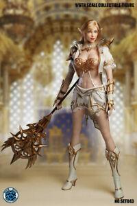 "SUPER DUCK SET043 1/6 Fairy Elf Head Clothes Accessories for 12"" Female Figure"