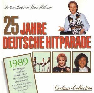25-Jahre-deutsche-Hitparade-Uwe-Huebner-1989-Nicki-Engelbert-Spider-Mu-CD