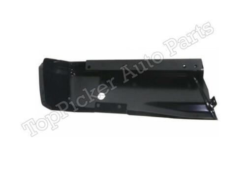 Rear Bumper Face Bar End Cap Black W// Sensor Hole RH For F150 Styleside 15-18