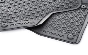 Gummifußmatten für Skoda Octavia 3 5E 2012 Kombi 5-türer 4tlg64
