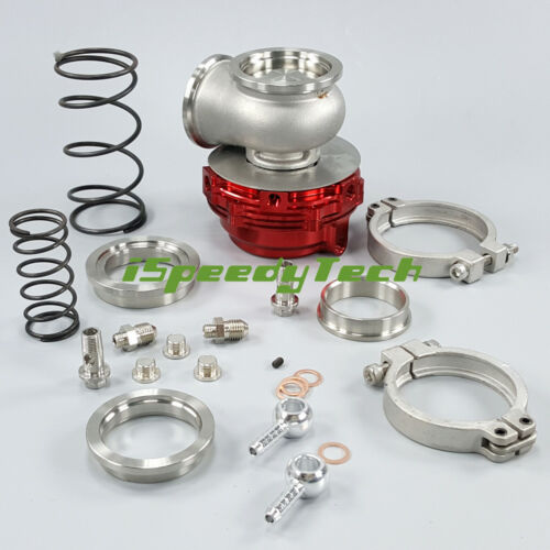 V-Band Clamps Red MVR44 44MM V Band Turbo External Wastegate Performance 14 PSI