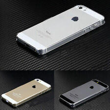 For iPhone 5 Glossy Clear Transparent Ultra Thin Hard Plastic Case Cover Skin XG