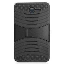 Black Tough Armor Defender Box W/Stand Case Cover For Alcatel One Touch PIXI 7""
