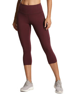 Women S Naked Feeling High Waist Capri Sports Leggings