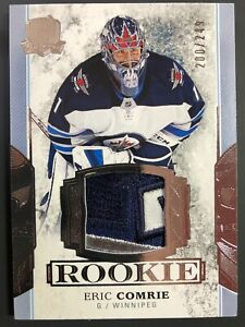 2017-18-Upper-Deck-The-Cup-Eric-Comrie-Rookie-Patch-Auto-249