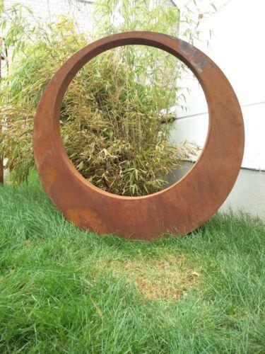 Garten Stecker,Edelrost,rostoptik GlückSymbol,Rost Gartenskulptur Figure 80*5cm