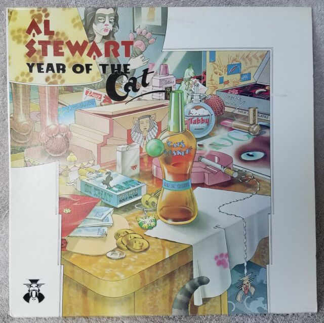 """AL STEWART 1976 Year Of The Cat 12"""" Vinyl 33 LP Arista Midas Shadow ROCK VG+"""
