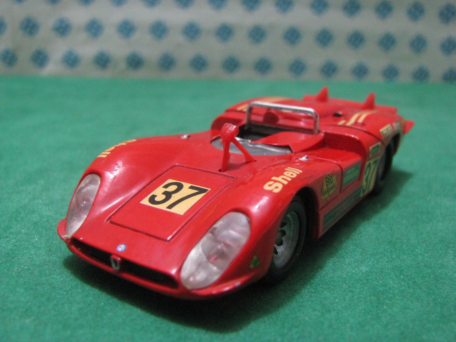Vintage-Alfa Romeo 33 3 de cola larga la Mans 1970 1 43 Solido 187