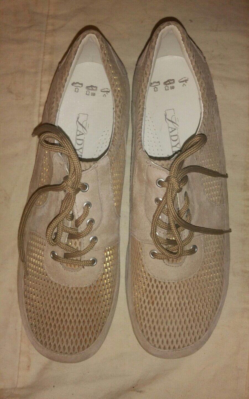 Top Ladysko femmes chaussures Basses Taille 39 naturel marron clair