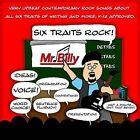 Six Traits Rock by Mr. Billy (CD, Nov-2011, CD Baby (distributor))