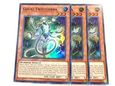 Gouki Twistcobra COTD-EN009 Super Rare 1st Edition NM YuGiOh Card