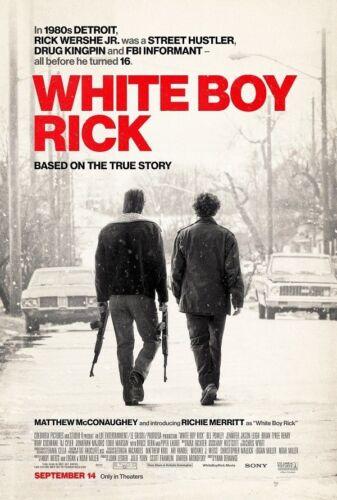 Y-988 White Boy Rick Movie 27x40 24x36 Hot Poster Matthew McConaughey