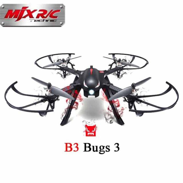 MJX B3 Bugs 3 Brushless Independent ESC 3D Roll for Gopro 3 Gopro 4 RC Drone Qua