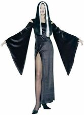 A ADULT FEMALE  WOMENS HALLOWEEN FANCY DRESS COSTUME MELVIRA VAMPIRES SIZE 10-12