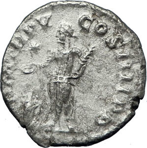 ELAGABALUS-at-Altar-Sacrificing-Ancient-222AD-Rome-Silver-Roman-Coin-i69956