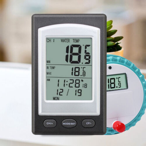 Floating Wireless Swimming Pool Thermometer Water Pond Spa Temperature