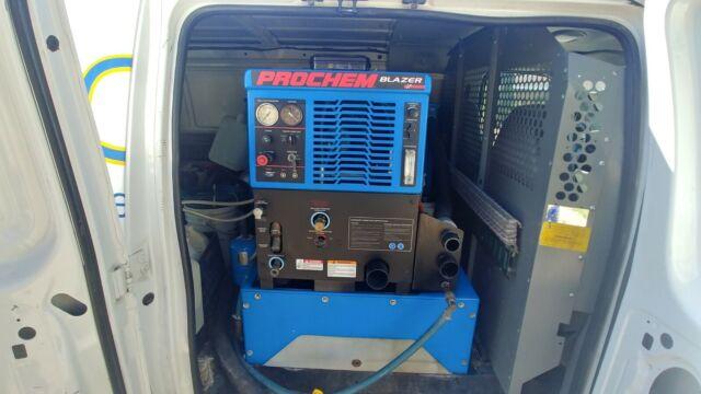 Carpet Cleaning Truck Mount Prochem Blazer Gt 500 Hours With 2005 Chevy Van Xl