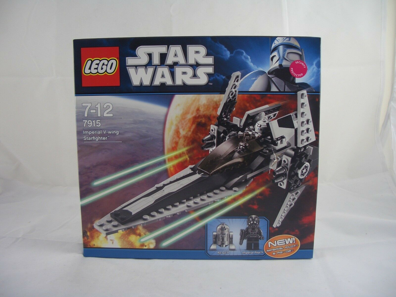 LEGO Star Wars 7915 Imperial V-Wing Starfighter New/Sealed
