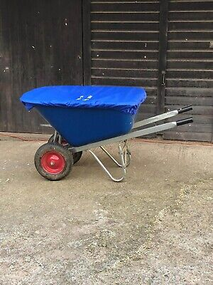 EQUINE WHEELBARROW COVER WITH PERSONALIZED EMBROIDERY.WATERPROOF