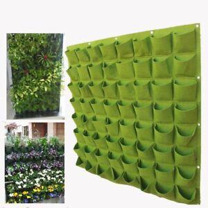 Image is loading Pocketgarden-Hanging-Plant-Pots-Wall-Pot-Vertical-Garden- & Pocketgarden Hanging Plant Pots Wall Pot Vertical Garden Flower Pots ...