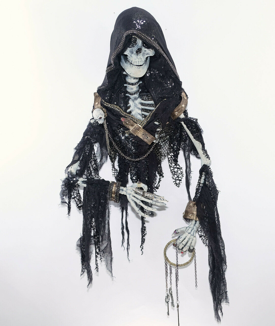 Skeleton Wallpiece - 25''- by Katherine's Collection at Silberlake