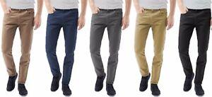 Pantaloni-Chino-Pantaloni-da-Uomo-Designer-Pantaloni-Elastici-Skinny-Jeans-Slim-Fit-Tutte-Le-Taglie