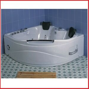 Merveilleux Image Is Loading JACUZZI 150x150 21 WATER JETS CHROMOTHERAPY OZONE THERAPY