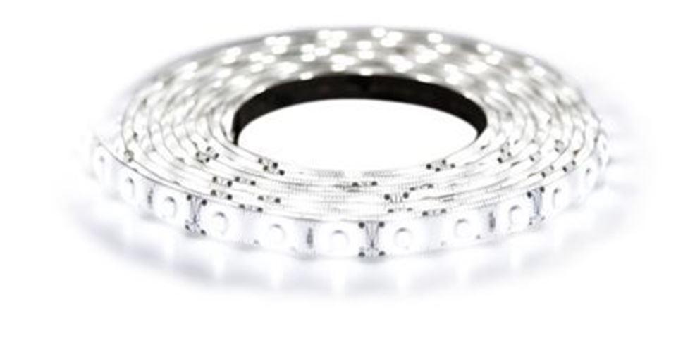 RS Pro 5m Weiß LED Strip, (6500K) 24V