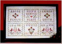 Keep A Gentle Heart - Plum Pudding Needleart - Chart