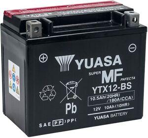 BATTERIA-MOTO-YUASA-YTX12-BS-12V-10Ah-PIAGGIO-BEVERLY-250-300-400-500-YTX12BS