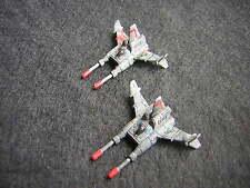 Battletech / Aerotech Ral Partha Sparrowhawk SPR-H5 Fighters x2 - Metal (2)