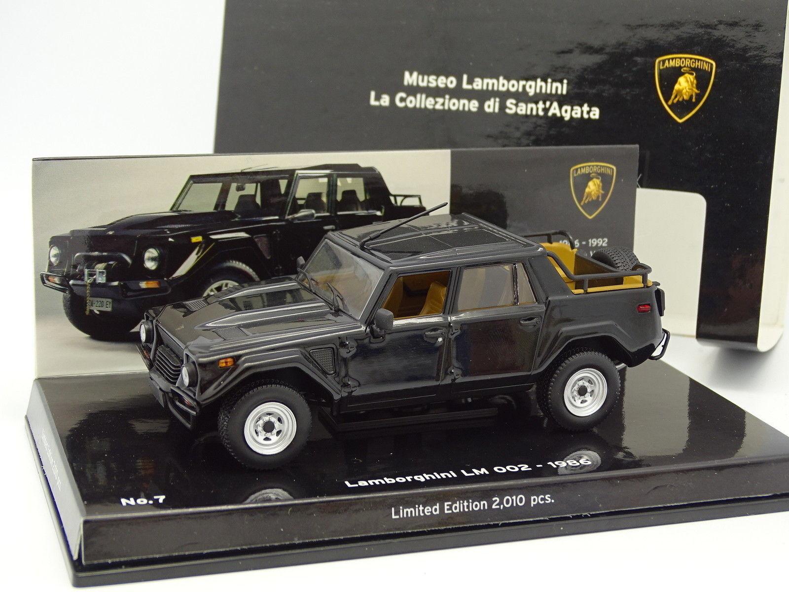 Minichamps 1 43 - Lamborghini lm 002 1986 black