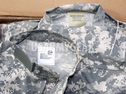 New US Army Military Acu Digital Combat Uniform Shirt Top Jacket Blouse
