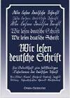 Wir lesen deutsche Schrift von Inghild Stölting, Eberhard Dietrich und Albert Kiewel (2000, Geheftet)