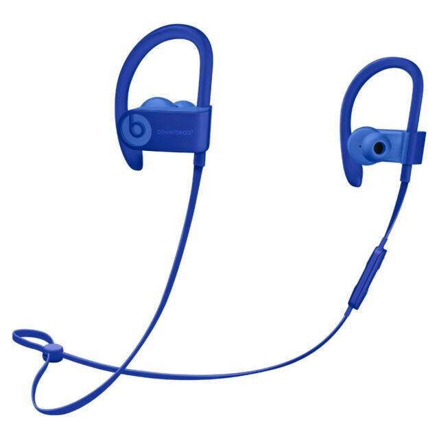 Oem Beats By Dr Dre Powerbeats3 Wireless Headphones Break Blue For Sale Online Ebay