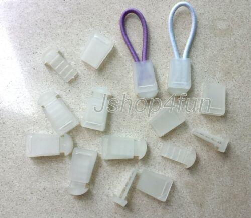 Nylon ParaCord Zipper Pulls Lanyard Zip Puller Cord Lock Cordlocks Replacement
