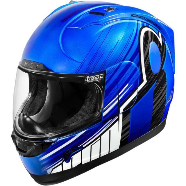 Icon Alliance Overload Motorcycle Helmet Hi Viz