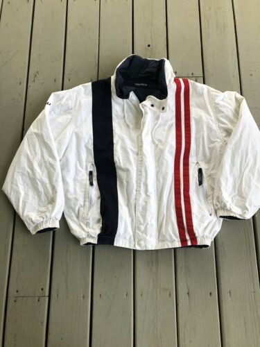 Vintage Nautica Performance Men Sz Extra Large Ful