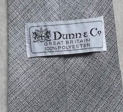 Laborioso Vintage Cravatta Dunn & Co Da Uomo Cravatta Retro Fashion Borgogna Grigio-mostra Il Titolo Originale Fabbriche E Miniere