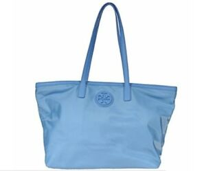 b3ee8a63b10 Tory Burch Ella Nylon Tote Bag Handbag Purse Shopper east west