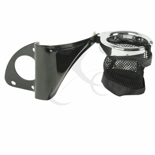 Passenger Drink Cup Holder Fit For Harley Tour Pak Touring Road Glide 2014-2018