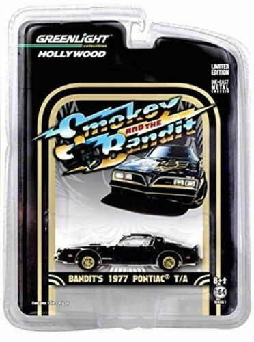 GREENLIGHT 1:64 Scale Smokey and The Bandit 1977 PONTIAC T//A Trans Am NEW