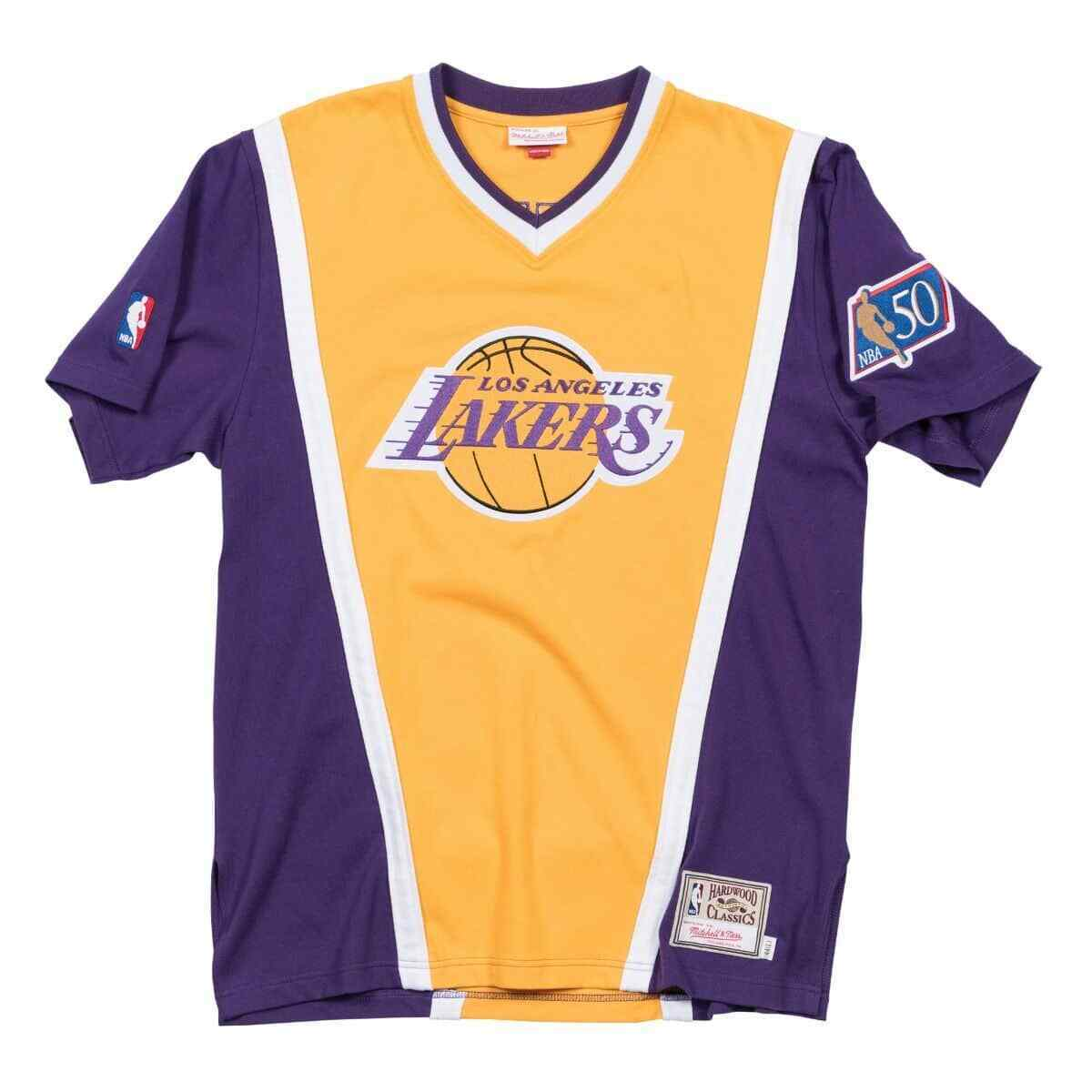 Mitchell & Ness Los Angeles Lakers 1996 97 Authentic NBA Shooting Shirt NEW