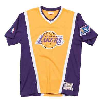 Objective Mitchell & Ness Los Angeles Lakers 1996/97 Authentic Nba Shooting Shirt New Possessing Chinese Flavors Other