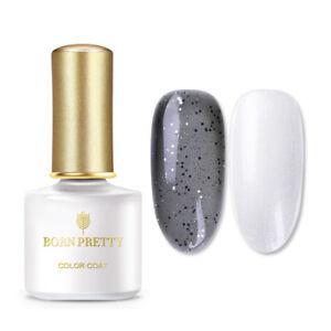 BORN-PRETTY-6ml-Translucent-Grau-Nagel-Kunst-Gellack-Soak-Off-UV-Gel-Varnish